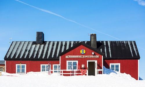 STF Blåhammaren Mountain station