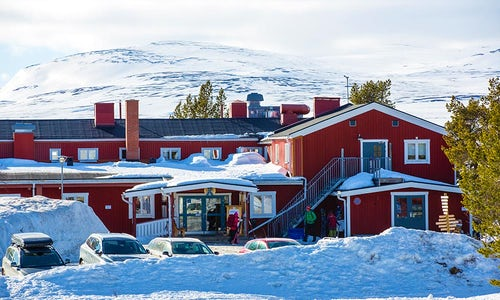 STF Grövelsjön Mountain station