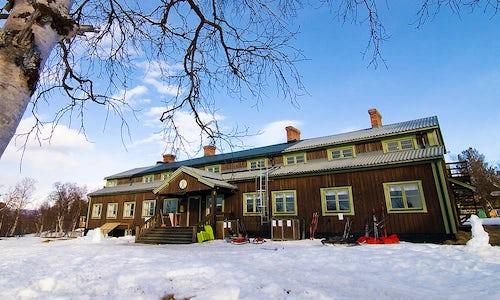STF Saltoluokta Mountain station